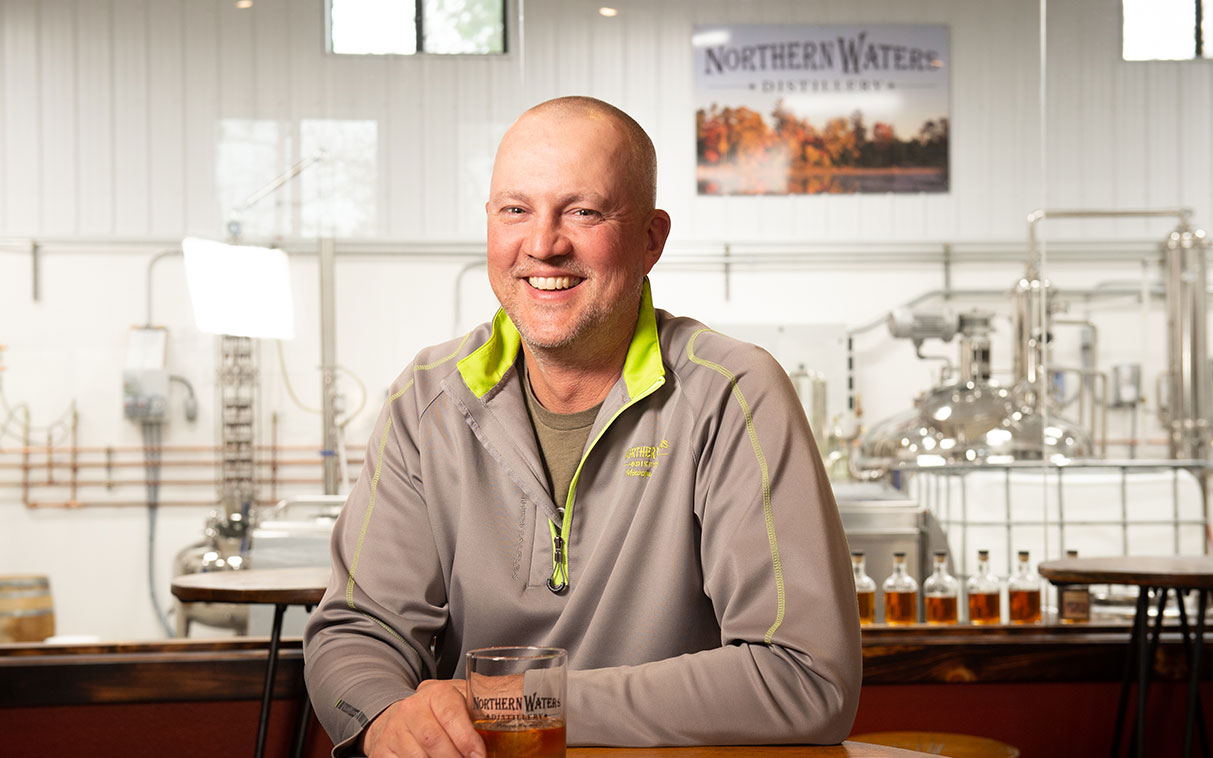business owner of a distillery
